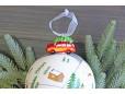 Елочный шар с фигуркой «Лесная тропинка», 10 см
