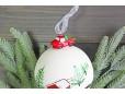 Елочный шар с фигуркой «Лесная избушка», 10 см