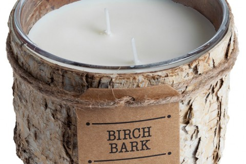 Свеча Birch Bark, большая