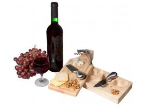 """Подарочный набор для вина и сыра """"Эдам"""""""