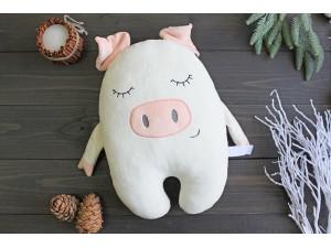 Мягкая игрушка-подушка «Поросенок Dreamer»