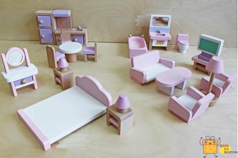 """Деревянная игрушка """"Кукольная мебель"""""""