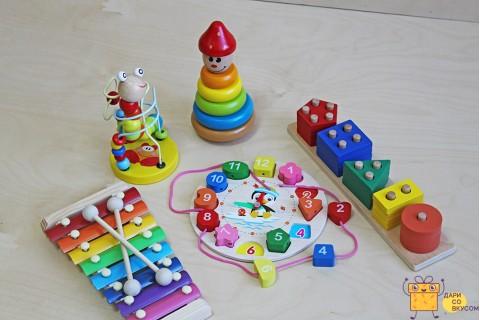 """Подарочный набор""""Мои первые игрушки"""""""
